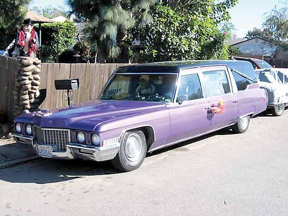 1971 Cadillac Hearse Price 6 800 00 Costa Mesa Ca