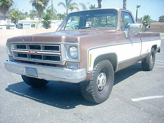1976 Gmc Sierra Price 7 000 00 Oceanside Ca Brown