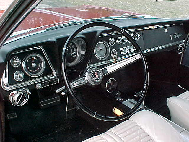 1965 Oldsmobile Starfire Price 29 500 00 Milford Oh 42 800 Miles Red White Interior
