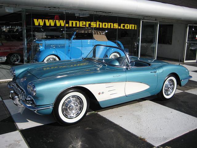1959 Chevrolet Corvette Price 59 900 00 Springfield Oh