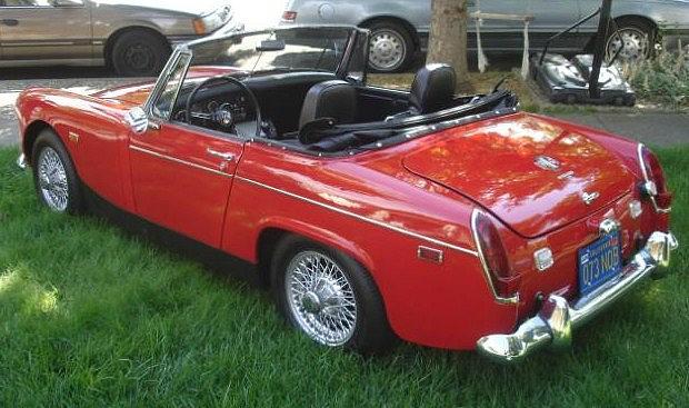 1969 Mg Midget Mk Iii Price 7 000 00 Napa Ca 200