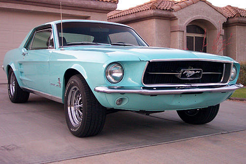1967 Ford Mustang Price 16 500 00 Gilbert Az 500