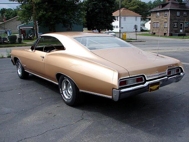 1967 Chevrolet Impala Ss Price 29 500 00 Beaver Falls Pa Granada Gold Gold Interior 4