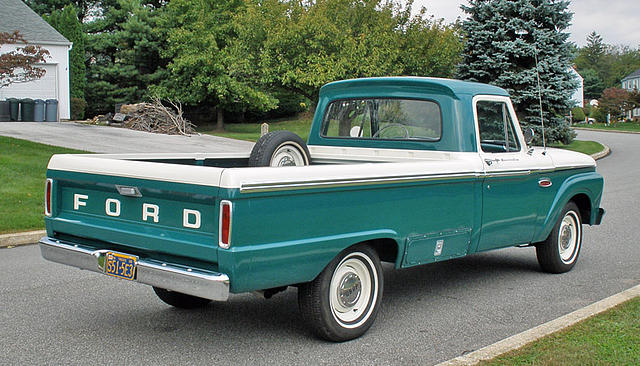1965 Ford F100 Price 19 900 00 West Chester Pa 72 000 Miles Holly Green White Green