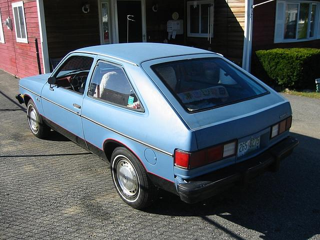 1980 Chevrolet Chevette Exeter Nh 107 000 Miles Blue Red Interior Automatic Rwd 2 2d