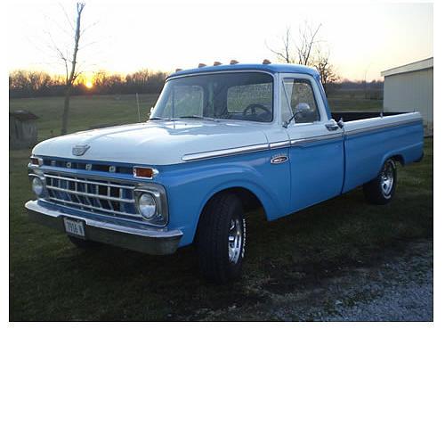1965 ford f100 price 5 shipman il 100 200 miles blue white black silver interior. Black Bedroom Furniture Sets. Home Design Ideas