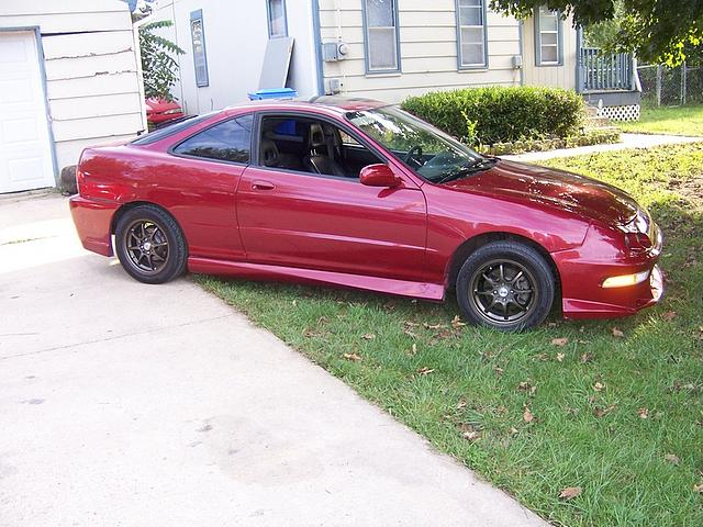 1995 Acura Integra Price 4 500 00 Kansas City Ks 86 500 Miles Burgundy Interior Manual