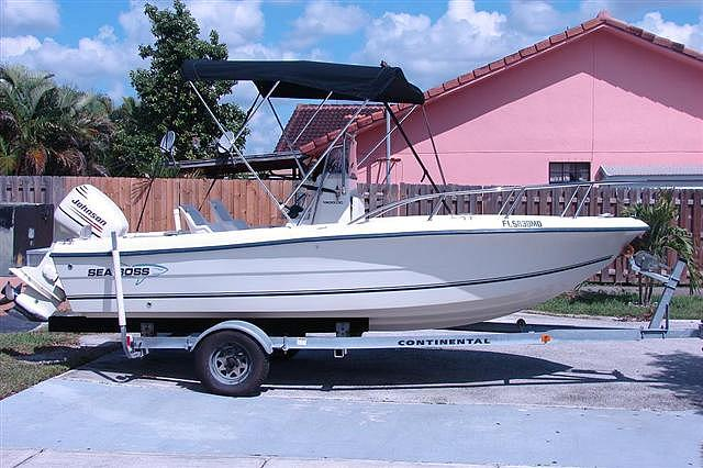 2003 Sea Boss Open Fisherman Miami FL Photo #0038404A