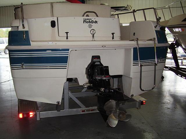1995 Harris Flotebote Flotedek Price 12 595 00 Bronston