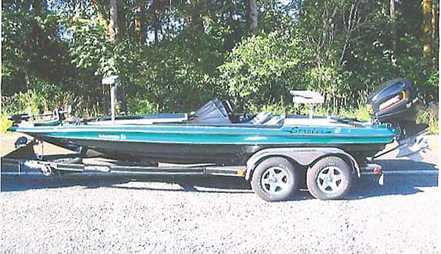 Bass Boat For Sale  Stroker Bass Boat For Sale