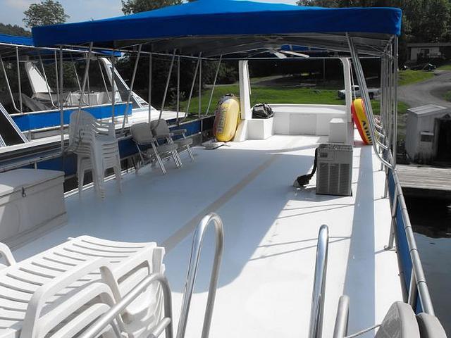 1988 Waterhouse 14x56 Houseboat Jamestown KY 42629 Photo #0051903A