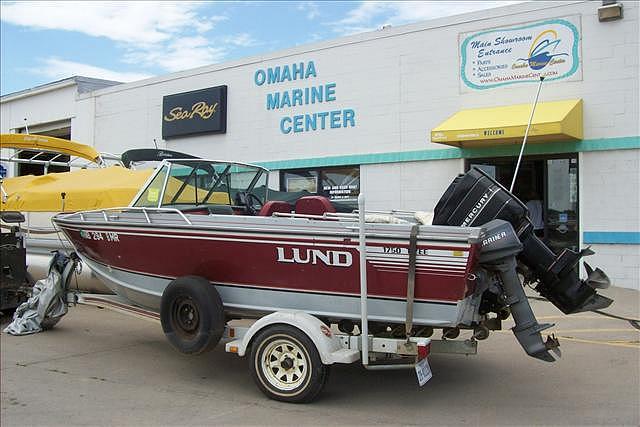 1989 LUND 1750 TYEE, Price $7,995 00, Omaha, NE, Stock