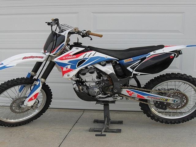 2006 Yamaha YZ250F Chino Hills CA Photo #0058773A