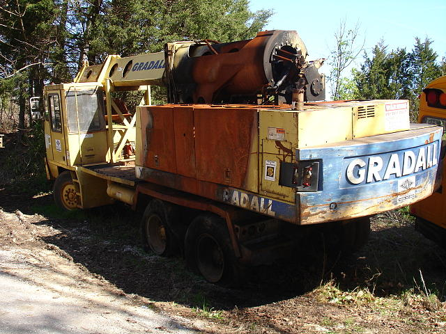 Parts Heavy Equipment Trader : Gradall xl allons tn all salvage dismantled