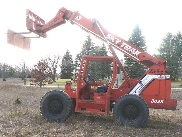 1991 sky track 8038 high lift price 18 000 00 lewiston 49756 mi rh heavyequipmentforsale internetrader com