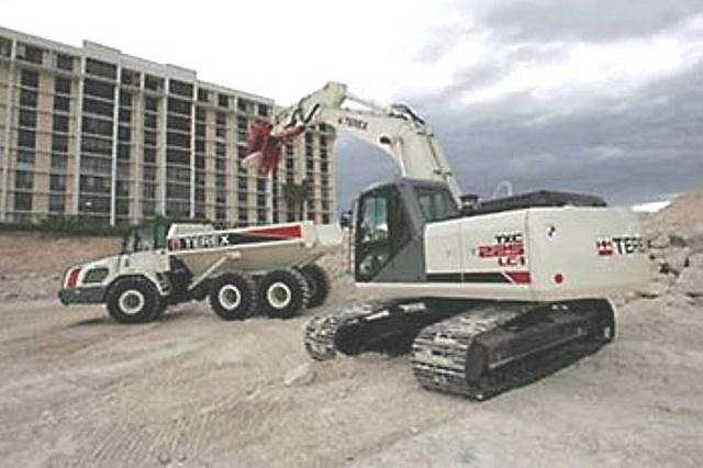 Parts Heavy Equipment Trader : Terex txc lc kansas city mo stock number cte