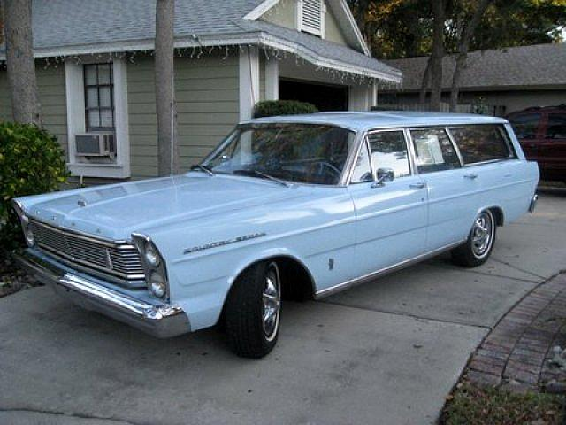 Acura Of Milford >> 1965 Ford GALAXIE COUNTRY SEDAN STATION, Price $7,250.00, Milford, OH, ARCADIAN BLUE Exterior ...