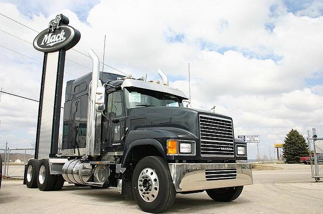 Mack Trucks Automatic : Mack pinnacle chu rawhide roseville minnesota