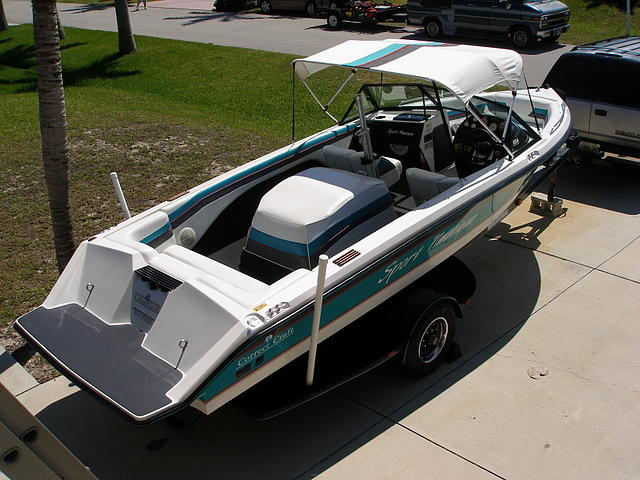 1990 Correct Craft Sport Nautique Cape Coral FL 33914 Photo #0132644A