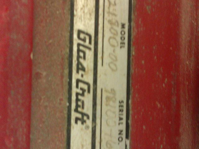 1997 GlasCraft- Graco MX Plural Component Proportioner Provo UT 84606 Photo #0132677A