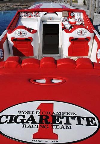 2001 Cigarette 38 TOP GUN Miami Fl 33175 Photo #0132725A
