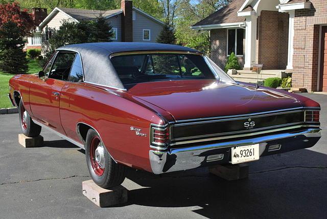 1967 Chevrolet Chevelle Price 54 000 00 107 000 Miles