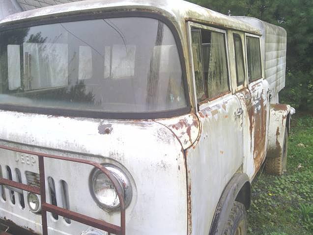 1964 Jeep Fc170 Price 6 500 00 White Exterior M677 Trucks