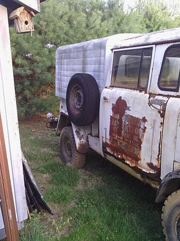 1964 Jeep Fc170 Price 6 500 00 White Exterior M677 Trucks