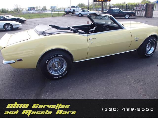 1968 Chevrolet Camaro North Canton OH 44720 Photo #0142027A