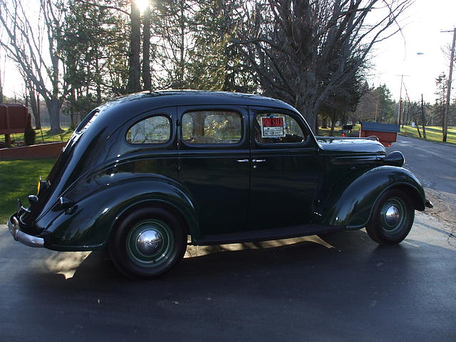 1937 plymouth p-4 sedan hamburg n y 14075 Photo #0149063A